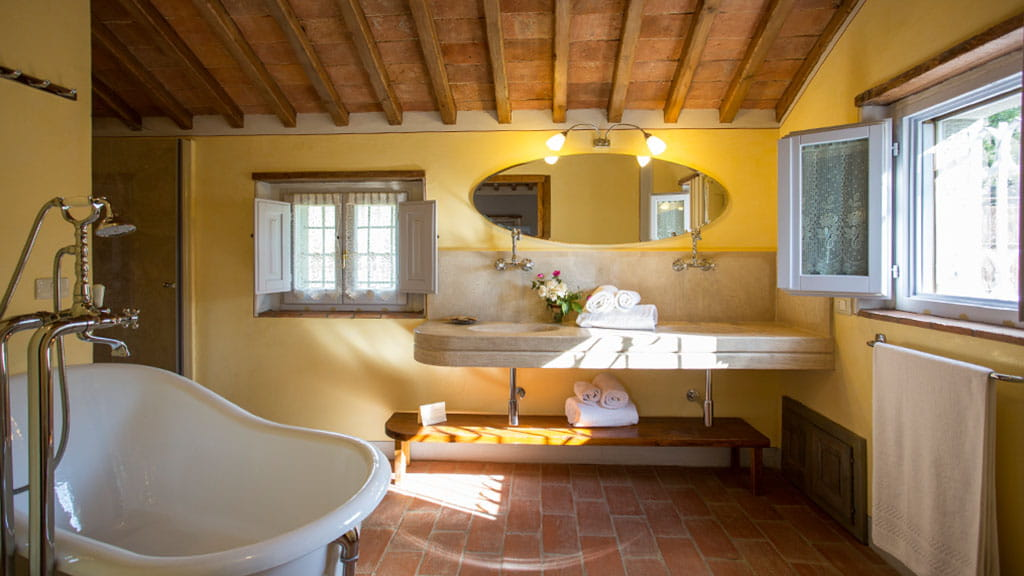 Villa La Capanna Badezimmer