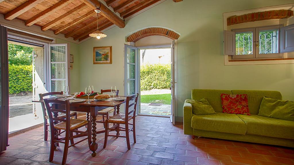 Villa La Capanna Wohnbereich