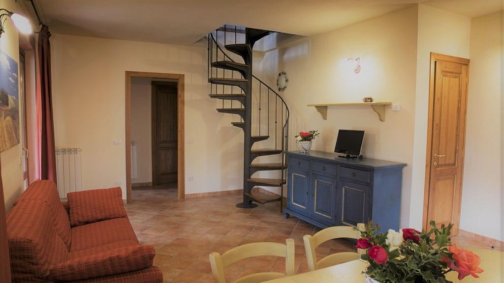 Villa Ninfea Therme Toskana Wohnbereich