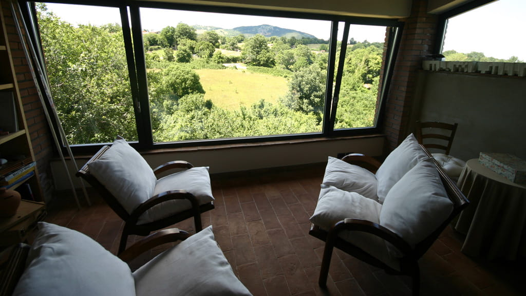 Ferienhaus Toskana Ausblick
