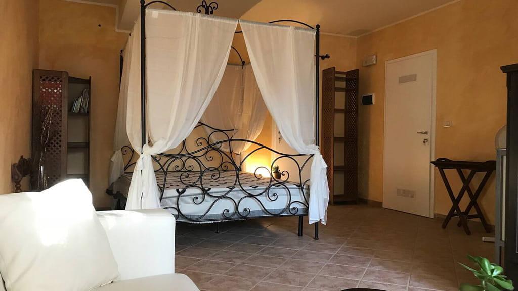Schlafzimmer Villa Vetulonia