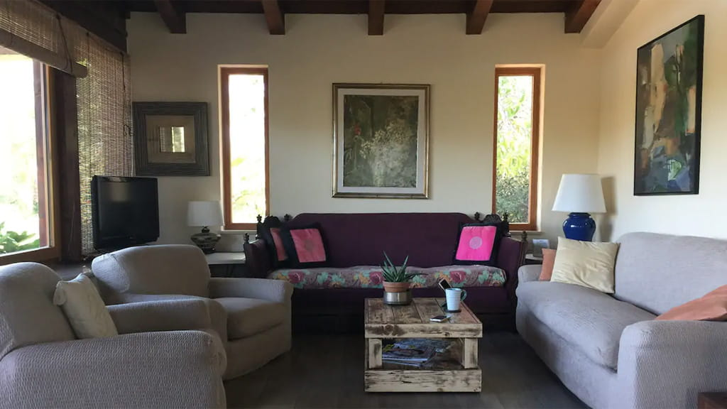 Villa Toskana Wohnzimmer