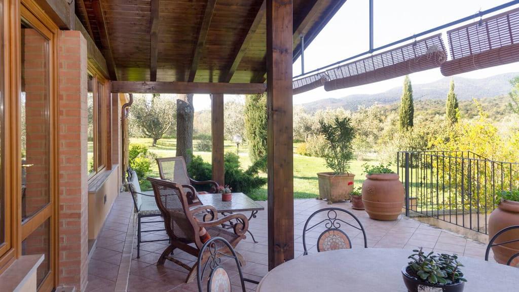 Villa Vetulonia Terrasse