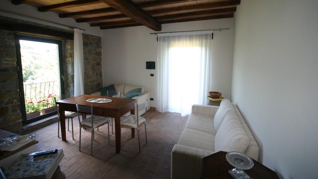 Wohn Essbereich Ferienhaus Toskana