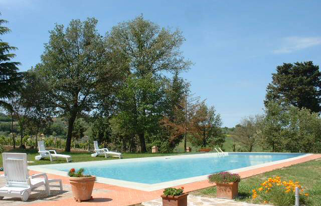 Ferienhaus Girasole Toskana mit Pool