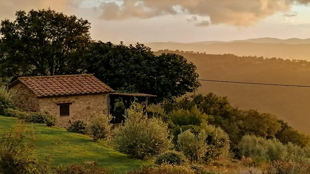 Ferienhaus Perucci Ausblick Landschaft