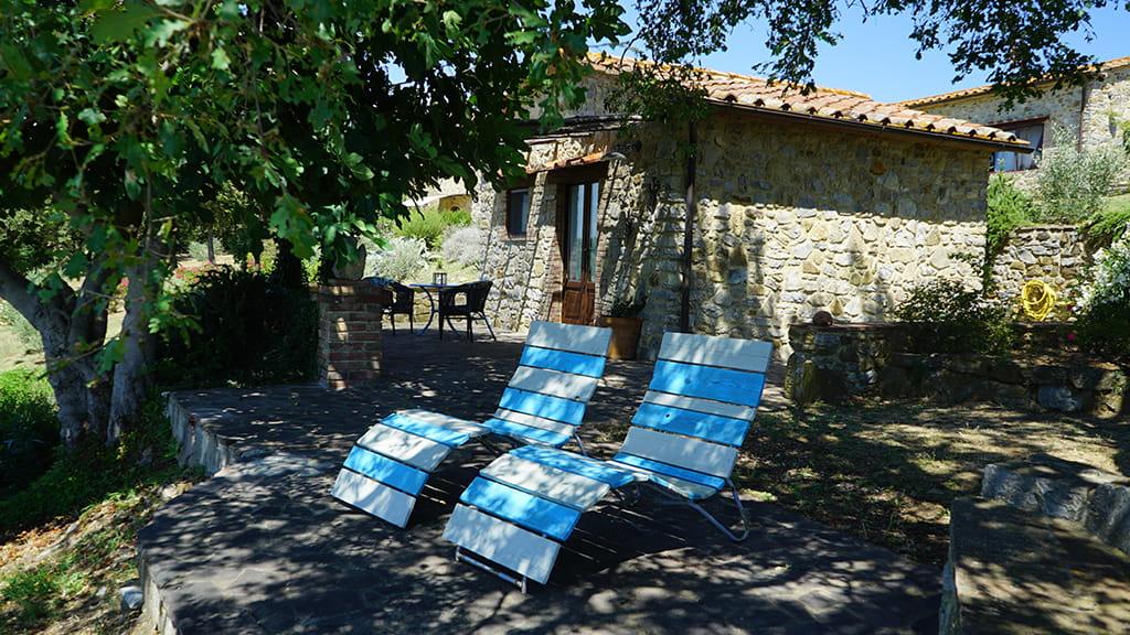 Ferienhaus Perucci Aussenbereich