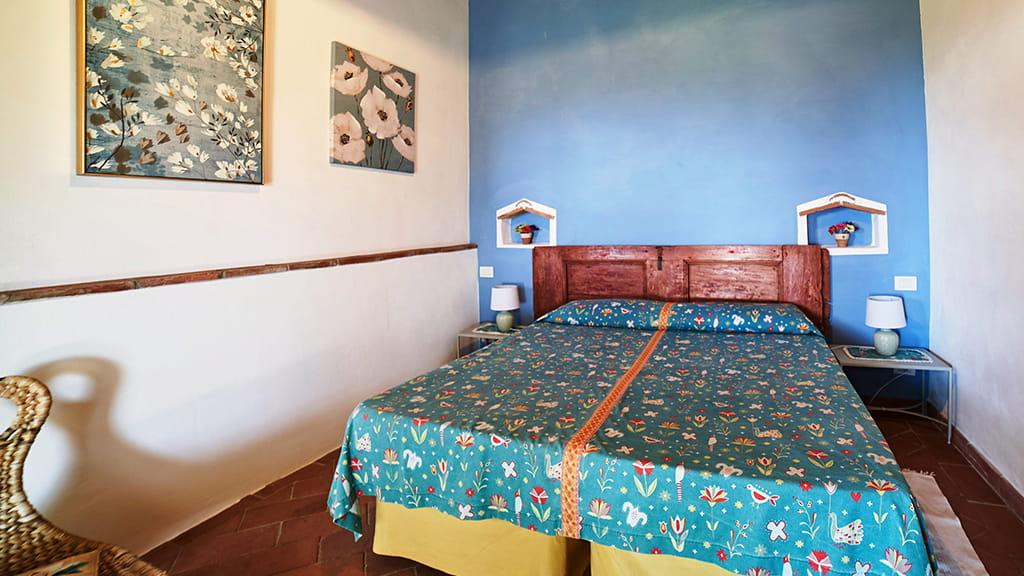 Ferienhaus Perucci Scansano Schlafen