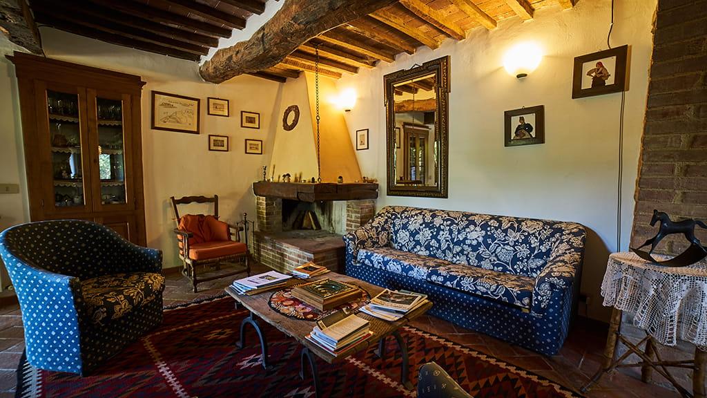 Ferienhaus Perucci Wohnzimmer