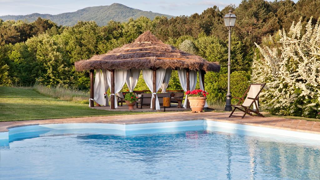 Villa Pool Toskana Urlaub