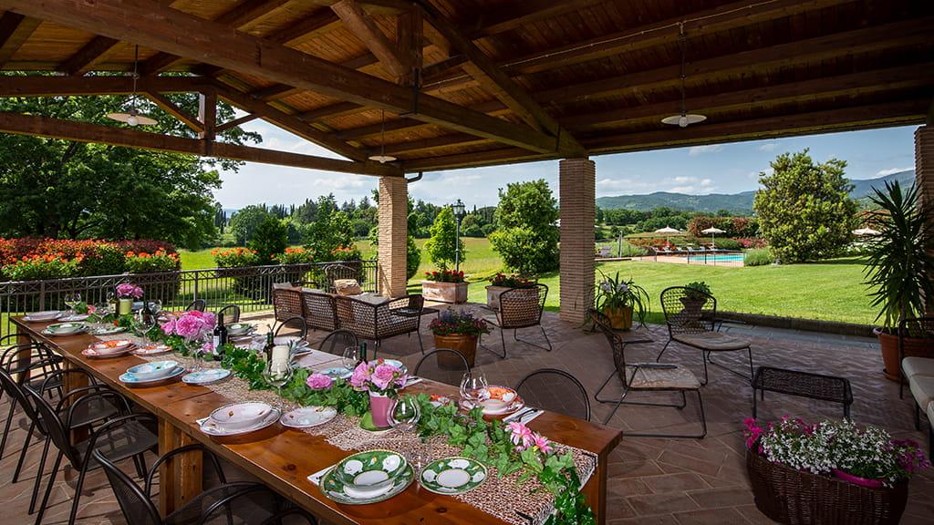 Villa Sant Angelo Farm Aussenbereich