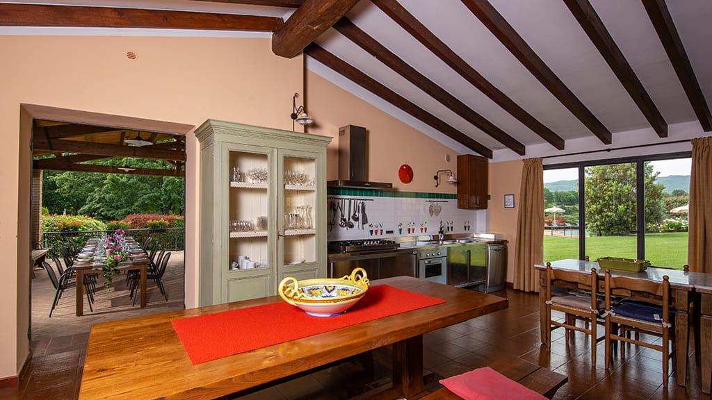 Villa Sant Angelo Farm Essen Mit Freunden