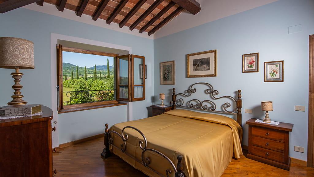 Villa Sant Angelo Farm Schlafzimmer