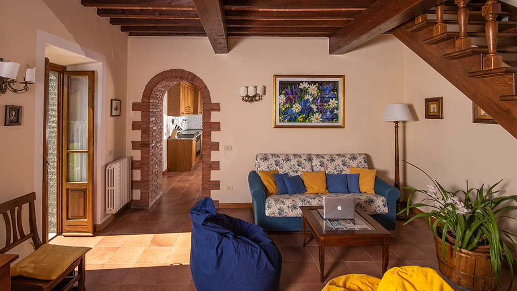 Villa Sant Angelo Farm Wohnbereich