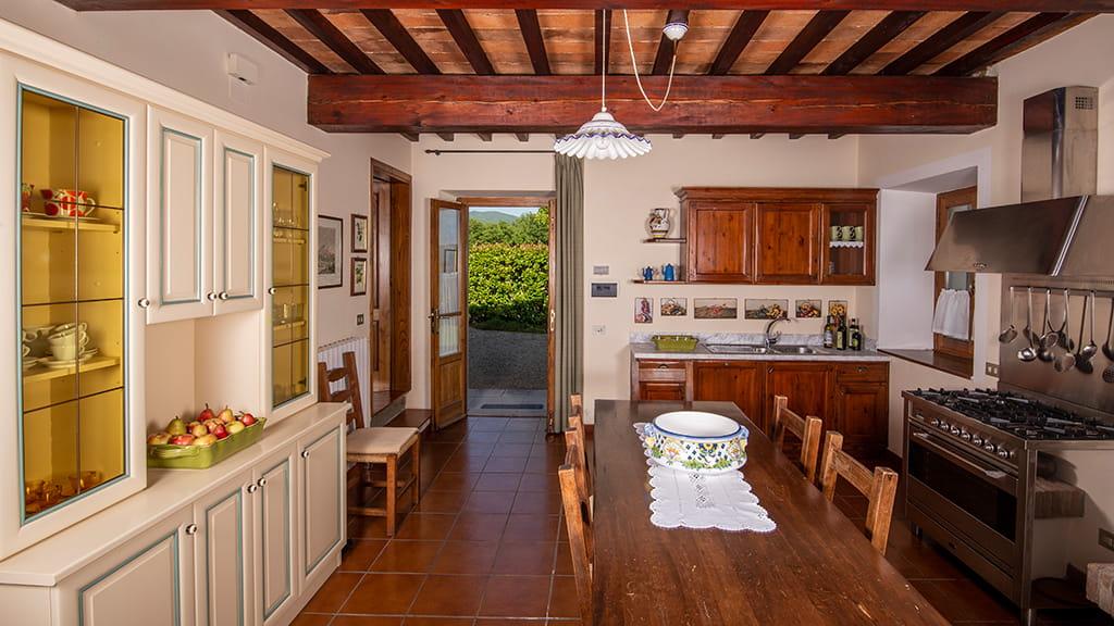Villa Sant Angelo Farm Wohnkueche