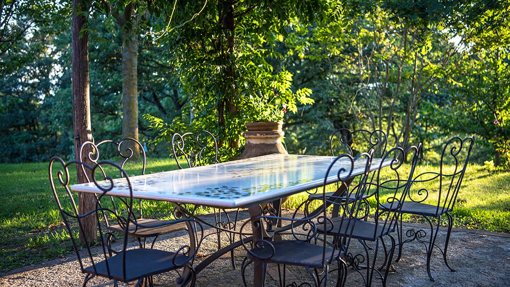 Villa Terrasse Toskana