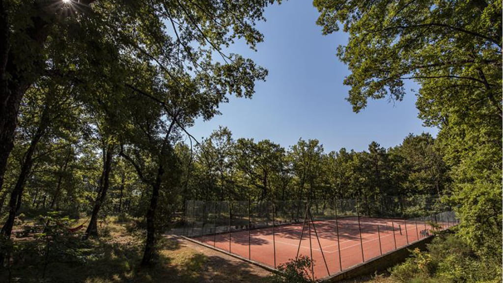 Villa Toskana Tennisplatz