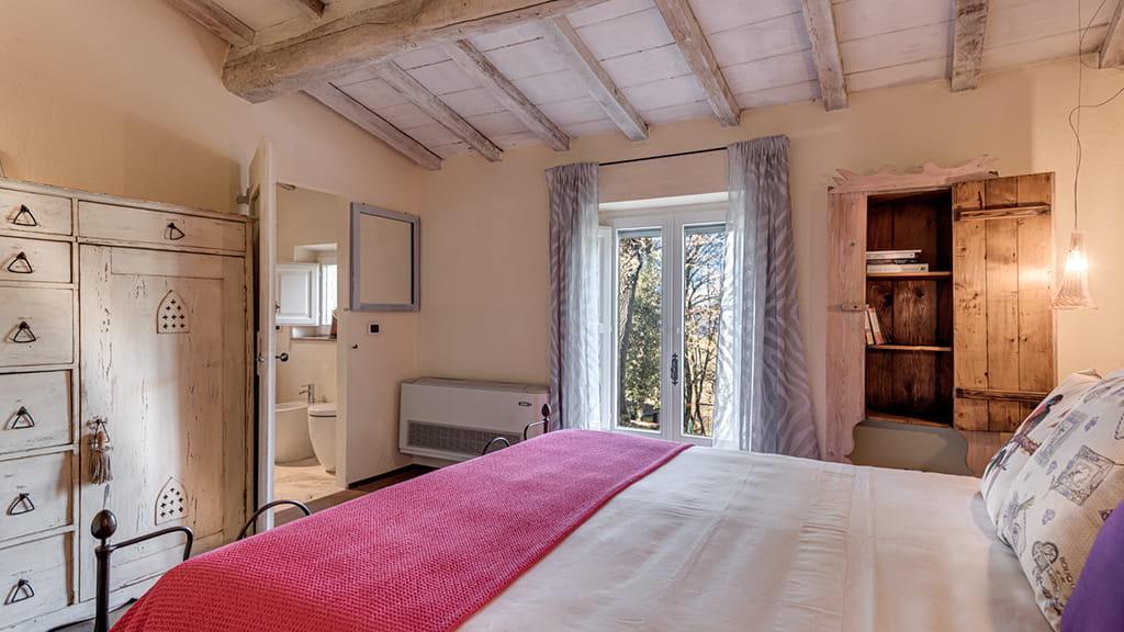 Villa Vetrichina Schlafbereich
