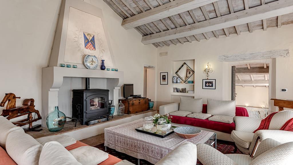 Villa Vetrichina Toscana Wohnbereich