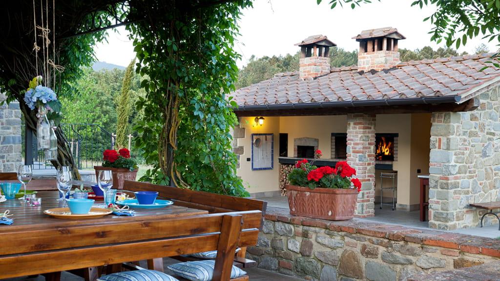 Villa In Der Toskana Pizzaofen