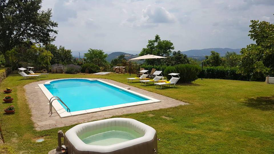 villa mit privaten pool toskana
